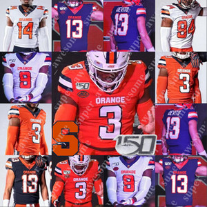Syracuse Orange Football Jersey Marvin Harrison Justin Pugh Roger Davis John Flannery Dwight Freeney Tim Green Keith Bullock Jim Collins