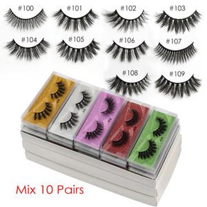 Wholesale Eyelashes Faux Mink Lashes Bulk Fake Eyelashes Wholesale False Eyelashes Makeup Natural False Lashes In Bulks