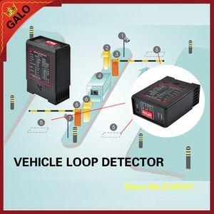 GALO estacionamento portão sistema detector de circuito magnético Veículo Circuito detector de controlo de barreira de estacionamento, contagem de veículos, barreiras automáticas e
