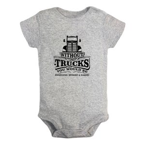 I May Get Lost But I'll Never Get Stuck Newborn Baby Girl Boys Clothes Short Sleeve Romper Jumpsuit Outfits 100% Cotton