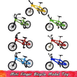 1Pcs Retro Alloy Mini-Finger-Fahrrad-Spielzeug für Kinder Simulation Kunststoff Mountainbike Modell für Kinder Kreative Geschenke Home Decoration