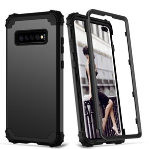For Samsung Galaxy S20 Ultra S10 S9 S8 Plus Note 9 Phone Case Full-Body Cover 3 in 1 Hybrid Hard PC & Soft Silicone Heavy Duty Rugged Bumper