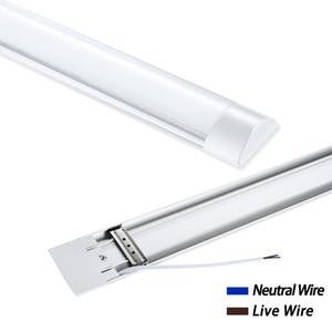 Warm 90CM La purificación de la lámpara Tubo blanco 220V de verano del LED 30W LED Tubo blanco cálido para el lugar de trabajo Cocina Baño