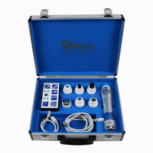 Faible intensité Portable Pulsed Therapy Shock Wave Sound Machine Pour Ed Treament, Edswt Shockwave Therapy Equipment
