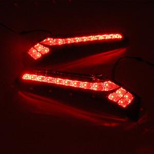 Carro luz LED Luz Traseira de Pára-choques traseiro luz de freio Auto bulbo decoração da lâmpada para Honda Jazz Fit 2014 2015 2016 2017 2018