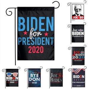Biden Polyester Bayrak Amerikan Seçim Joe Biden İçin Başkan Bahçe Bayrak 30 * 45 cm Cumhurbaşkanlığı Kampanyası Bayrak çift taraflı