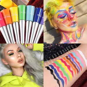 CmaaDu Colorful Liquid Eyeliner Pen Matte trucco waterproof Glitter Eyeliner Pencil Trucco lunga durata fino Eye Liner