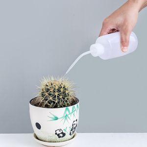 Gartengeräte 250ML Sukkulente Pflanze Blume spezielle Bewässerung Flaschen Squeeze-Flaschen mit langen Düsen Wasser Schnabel Gießen Kettle DH0781 T03