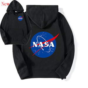 O mais recente Nasa Hoodies Moletons moda Casacos Jaquetas Com Capuz Hoodies Moletons Para Homens e Mulheres amantes QJ4