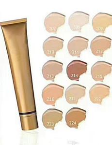 Новый состав Золотой Tube Foundation Отбеливание Lasting Водонепроницаемые Concealer Foundation для всех типов кожи 14 цвета