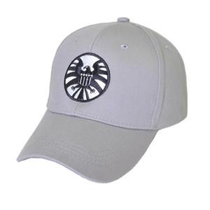 Feito sob encomenda chapéu bordado filme Capitão Marvel Baseball Cap Cosplay Acessório agentes Unisex ajustável Hip Hop Snapback com viseiras