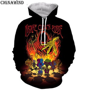 Fashion funny Insane Clown Posse hoodie men/women 3D printed hoodies sweatshirts Long sleeves Harajuku style streetwear tops