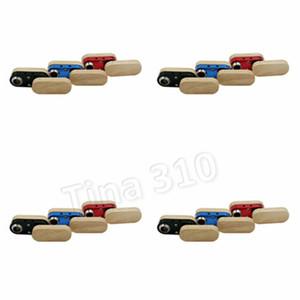 Dobráveis de madeira tubo duplo camada multicolor tubulação de mão portátil dobrável cachimbos outra Smoking Acessórios homewareT2I5530
