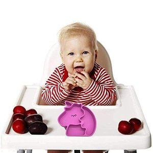 Infant Baby Learning Toy Dishes Children's Silicone Bowl Feeding Dish Easy To Clean