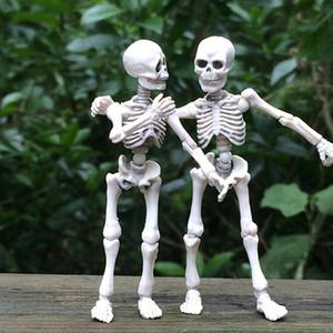 Высокое качество 1шт смешной подвижный Мистер кости скелет человеческая модель череп полное тело мини фигурка игрушка Хэллоуин подарок для детей Дети