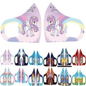 7 yaşında En Yeni Ucuz maskeler Kaplan Karikatür Facemask Stretch Kaplanlar URctI Maske Yıkanabilir Yeniden kullanılabilir Maske