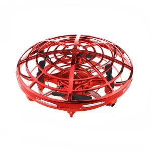 Original New Shape JJRC HXB-003R Infrared Sensing Control Altitude Hold Mode Mini RC Drone Quadcopter RTF Blue- Gold -Red