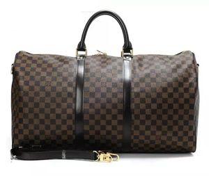 Neue mode männer und frauen reisen gepäck marke designer gepäck große kapazität sporttasche aufbewahrungstasche 55 CM