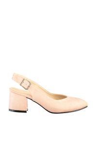 Sapatos S clássico de salto alto Trendyol Suede Mulheres' TAKSS20TO0169