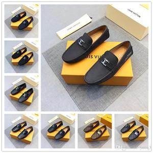 2018 New Confortevole Big size 38-45 Casual Scarpe Mocassini Uomo Scarpe Qualità Split Leather Shoes Men Flats Mocassini