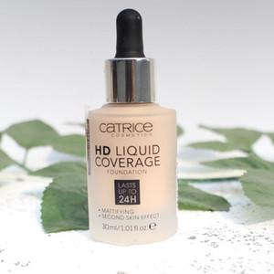 Catrice HD Liquid Copertura Dropper Fondazione 30ML dura fino a 24 ore di lunga durata Mattifying Second Skin Effect Cosmetics Catrice pelle 4color