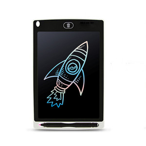 8.5 polegadas áspero Manuscrito Writing Tablet colorido portátil inteligente LCD eletrônico Notepad desenhar gráficos Pad Blackboard