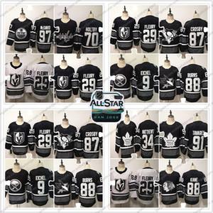 Maillot de hockey sur glace de match des étoiles de la LNH 2019 97 Connor McDavid 91 John Tavares 88 Patrick Kane 70 Braden Holtby S-3XL