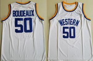 occidentale 50 Butch Boudeaux pallacanestro Jersey FILM JERSEY QUINCY McCall CRENSHAW Monica Wright 100% cucito pullover di pallacanestro di alta qualità