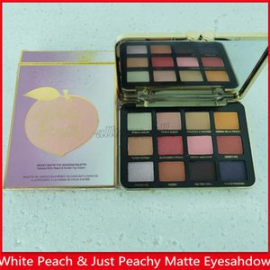 Just peachy mattes und Farben des weißen Pfirsichs 12 Augenschattenpalette 12colors peachy Lidschattenpalette mattes Make-up Dhl-freies Verschiffen