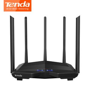 Tenda AC11 Gigabit WiFi Router 1200Mbps Wireless-LAN-Repeater Doppelband 2.4G / 5G 1 WAN + 3 LAN Gigabit Ports 5 * 6 dBi Antenna 1GHz CPU