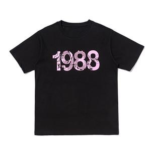 Mens estilista Camiseta del estilista informal de manga corta de la moda dragón impresión de alta calidad mujeres de los hombres de Hip Hop Tees