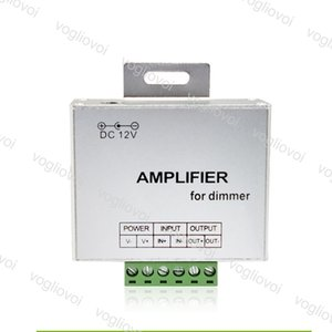 Amplifier Dimmers Single Color DC12V Input 24A One Channel Output Lighting Accessories For LED Strip Power Repeater Console Controller DHL