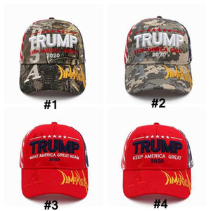 Donald Trump Baseball Cap 2020 keep America Great Again Letter Embroidered Outdoor Sports Sunhat Party Hats ZZA2265 20Pcs