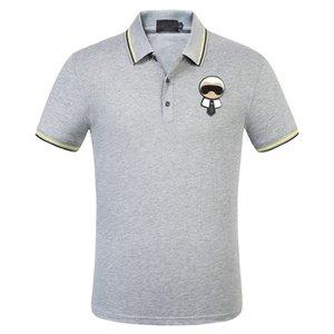 T-Shirts Summer Straight Fashion Black White Turn Down Collar Motorcycle Men Women Tees Cotton Hero Man Cheap Apparel