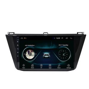 Hassas GPS Çözünürlüğü ile Android araba oyuncu HD 1024 * 600 çoklu dokunmatik ekran bluetooth multimedya oynatıcı VW için yeni tiguan 9 inç