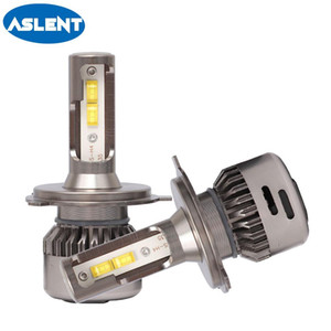 Aslent 2X H4 LED H7 55W bulb 20000LM 6500K Canbus Error Free H11 H8 HB4 H1 HB3 9005 9006 Auto Car Headlight Bulbs Styling lights