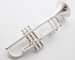 바흐 스트라디 바리우스 전문 비비 트럼펫 LT180S-37GS 실버 도금 트럼펫 INSTRUMENTOS Musicales Profesionales 마우스 피스