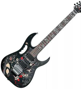 In tutto il mondo FAST S / H JEM 77FP2 motivo floreale 2 Steve Vai chitarra elettrica intarsio albero della vita, Floyd Rose Tremolo, dado di bloccaggio, hardware cromato