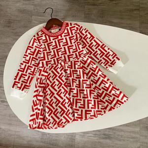 Ropa del vestido de niña de la marca niño niños Promoción de verano princesa Imprimir vestidos de ropa de algodón 011113