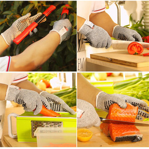 Safety Cut Proof Resistant Nylon Gloves Cooking Butcher Woodworking Work Mittens