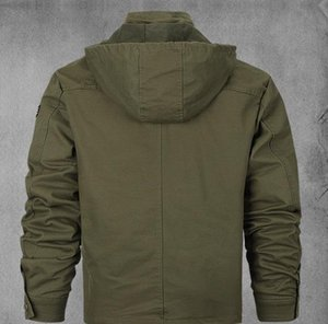 Fashion-Plus Size Jacke Army Military Style-MA1 Kühler Bomberjacke Mäntel
