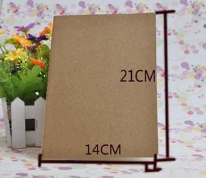 A5 Пустой ноутбук Внутри страницы Блокноты коровьей бумаги Solid Color Copybook Классическая Блокнот № 133 Простые Notebooks Завод прямых продаж