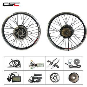 36V 500W Front or Rear Motor Wheel Electric Bike Conversion Kit
