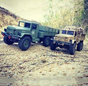 B16 B16 1:16 WPL Гусеничный 6WD 2.4G Off-Road Remote Control 15 км Автомобиль / H Top Speed Mini RC Monster Truck Y200414