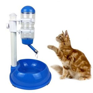500ml Bottiglia di plastica Cane Gatto Acqua Fontana Bere Pet Supplies Water Dispenser Pet Supplies Alimentatore automatico per animali domestici D19011506