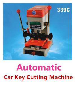 DHL frete grátis 110v / 60Hz ou 220V / 339C 50hz chave do carro automático máquina de corte Equipamento serralheiro Key Copy Machine com as ferramentas do jogo cheio