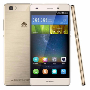 Original Huawei P8 Lite 4G LTE Cell Phone Hisilicon Kirin 620 Octa Core 2GB RAM 16GB ROM Android 5.0 inches HD 13.0MP OTG Smart Mobile Phone