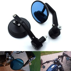 "Universal 7 8 22mm""motorcycle handlebar end rearview mirrors For YZF R1 R6 R6S YZF-R25 YZF-R3 YZF R125 YZF-R5"