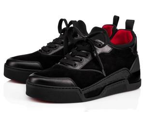 Hohe Qualität AURELIEN rote untere Schuhe für Männer Sneaker Sportschuh Flache AURELIEN Turnschuh-Trainer, Geburtstag, Hochzeit GiftC03
