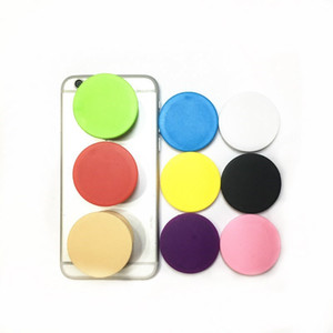 Colorido Universal Cell Phone Holder real cola Punho expansível suporte Dedo Titular iPhone Para flexível 9 cores com OPP saco DHL